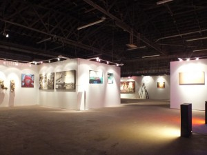 Installation view: Sokolov, Aliguori, Rucker, Young, Symons and Mayer