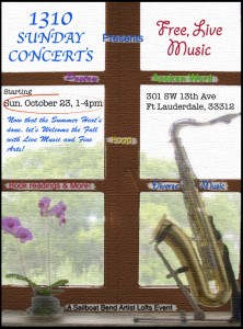 1310 Sunday Concerts