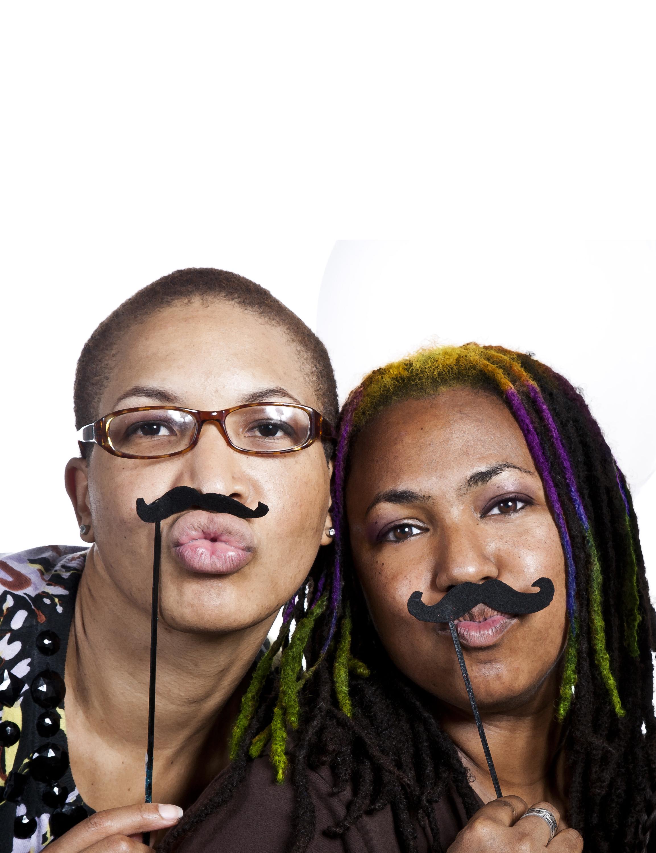 Co-curators Asanyah Davidson and Niki Lopez