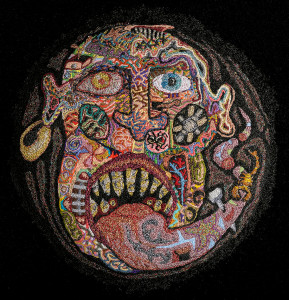 Tod Hensley: embroidery works