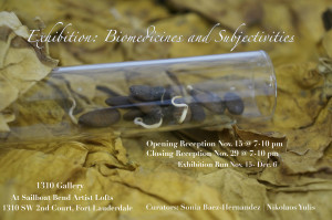 Exhibition: Biomedicines and Subjectivities